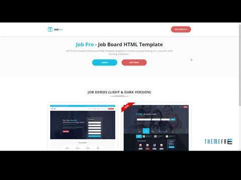 Job Pro - Job Board HTML Template        Mackenzie Dee