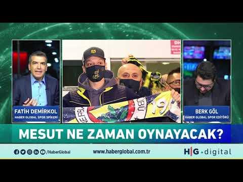 Mesut Özil Fenerbahçe ile Antrenmanlara Ne Zaman Çıkacak? İrfan Can Galatasaray'