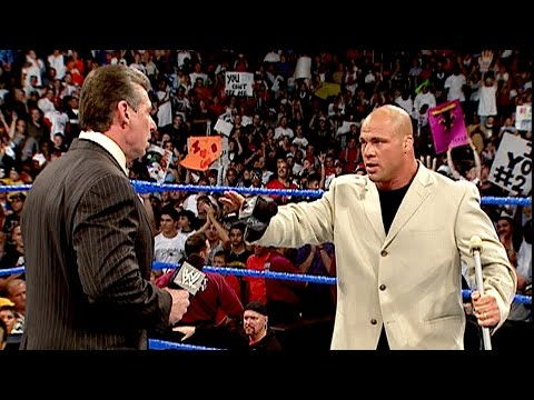 Mr. McMahon fires SmackDown General Manager Kurt Angle: SmackDown, July 22, 2004