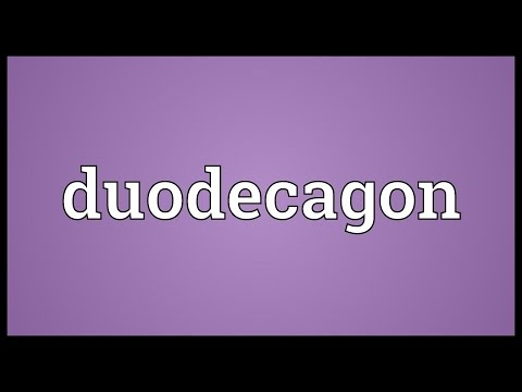 Header of duodecagon