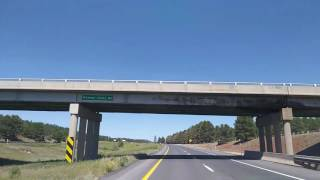 Driving I-40 West from Flagstaff AZ