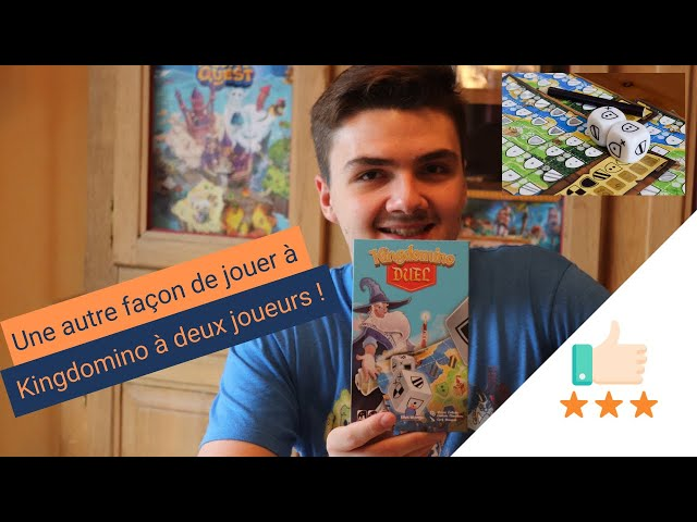 Kingdomino Duel - Le Kingdomino roll and write à deux joueurs ! Toreview #27