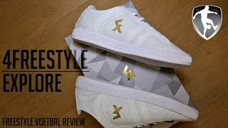 Leer freestyle voetbal: 4freestyle explore schoenen review