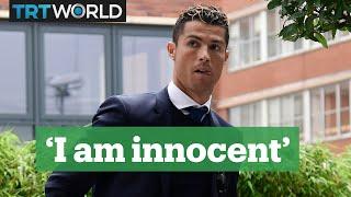 Cristiano Ronaldo denies tax fraud