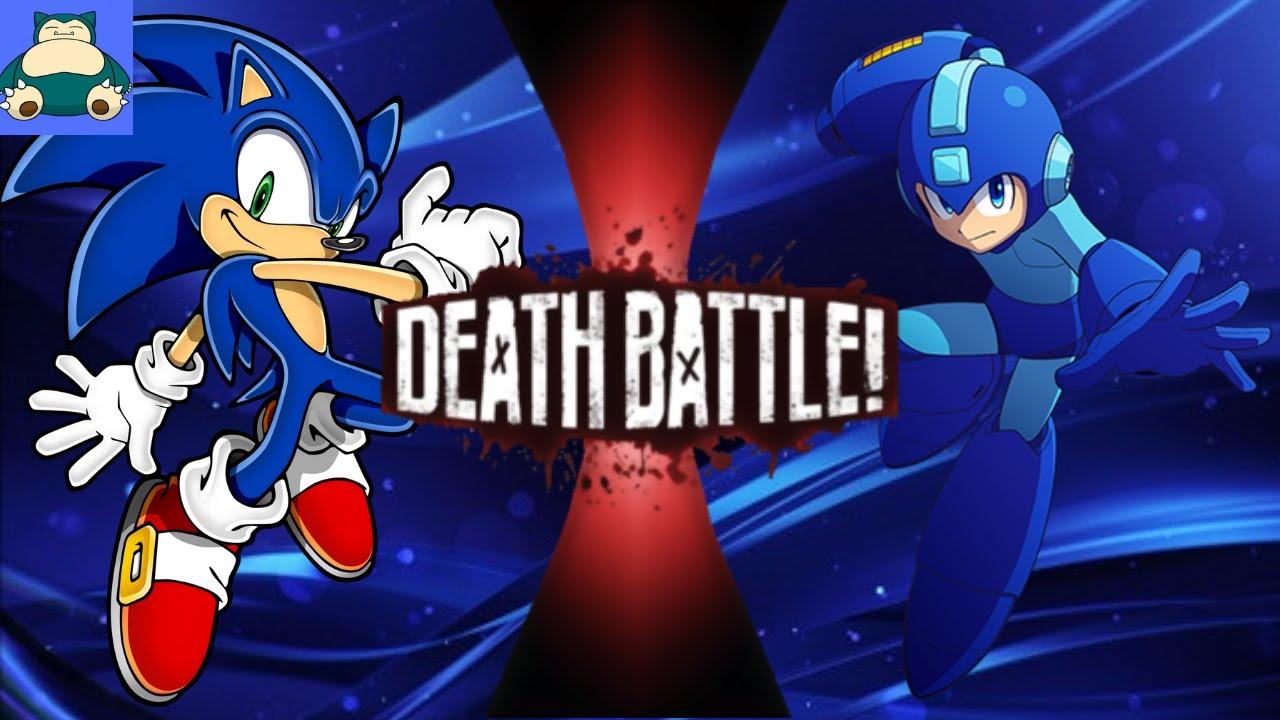 Death Battle Sonic Vs Mega Man Fan Made Youtube
