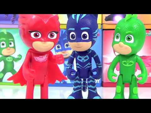 PJ MASKS, Toy Surprise Boxes With Toys Unlimited