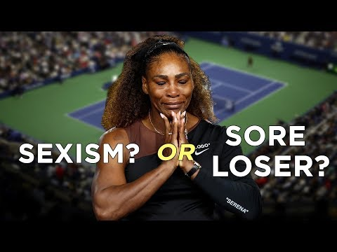 Serena Williams: Victim of Sexism or Sore Loser? Mp3
