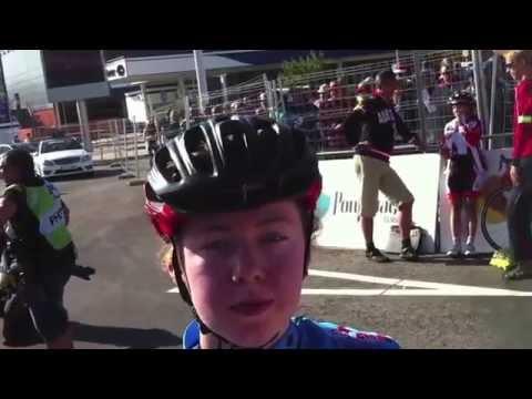 2014 Road Worlds Junior Women Road Race - Emeliah Harvie