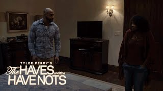 Derrick Spends the Night with Hanna   Tyler Perry's The Haves and the Have Nots   OWN