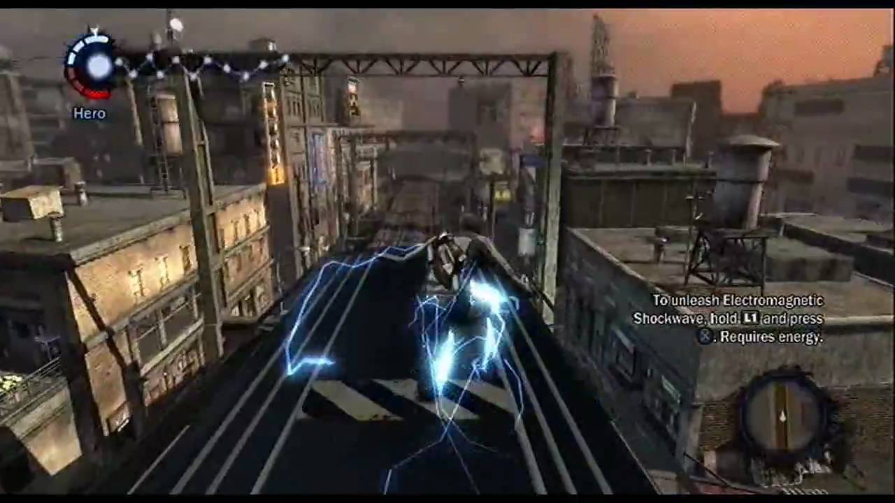 infamous ps3 demo gameplay youtube