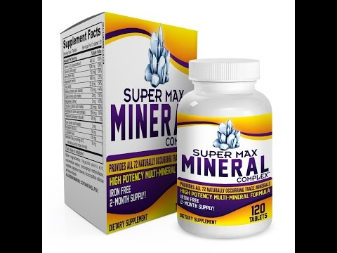 Super-Max Mineral Complex Supplement (Iron Free)(2-Month Supply)