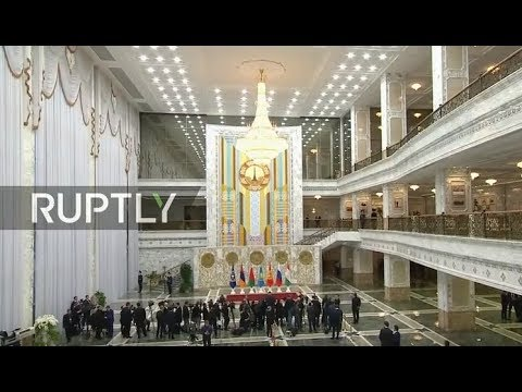 LIVE: Putin takes part in CSTO session in Minsk