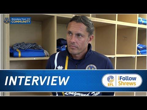 INTERVIEW | Paul Hurst Pre Aston Villa - Town TV