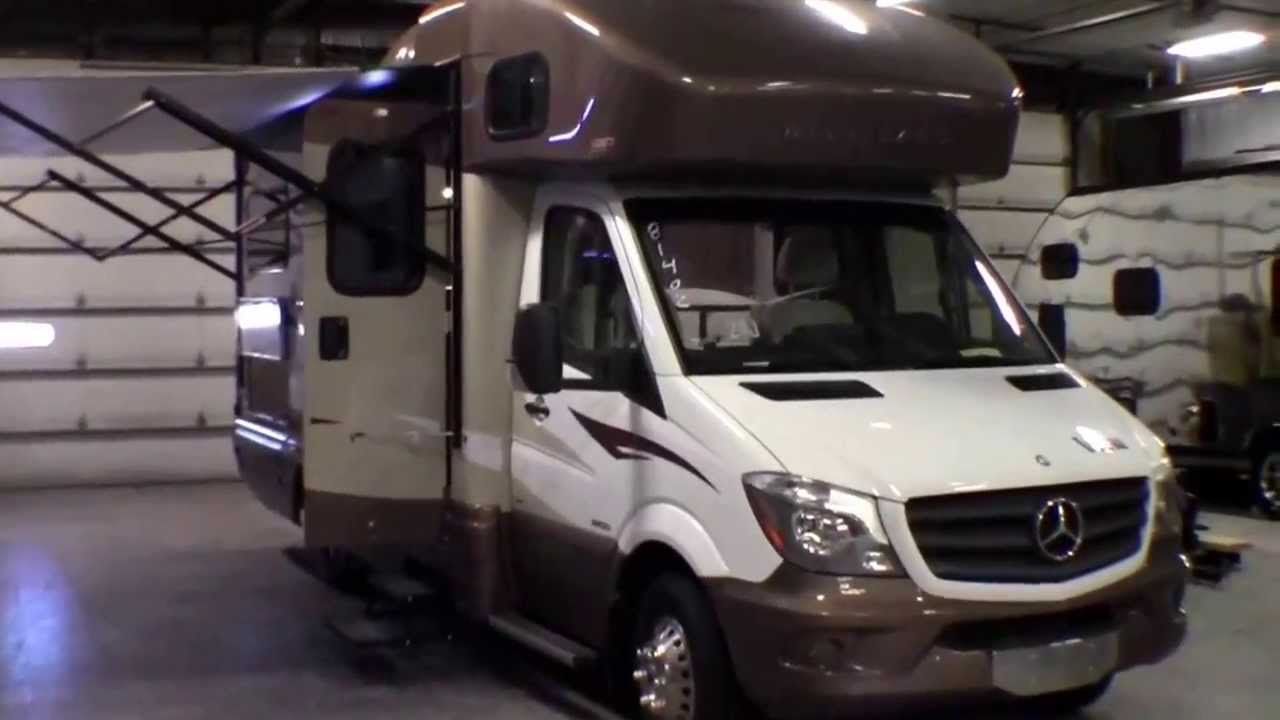2014 winnebago view 24j with mercedes benz diesel youtube for Mercedes benz view rv