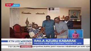 Raila Odinga azuru Kabarak na kukutana na Rais mstaafu Daniel Arap Moi