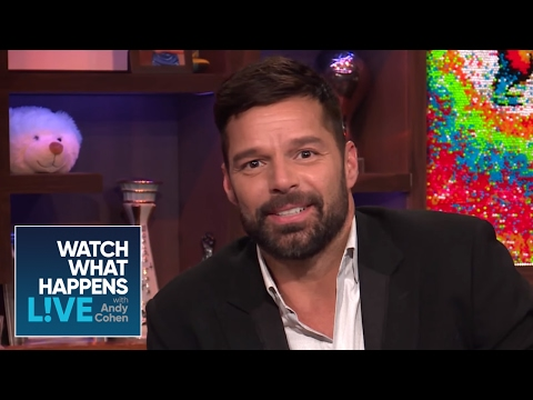 Ricky Martin's First Celebrity Crush | #FBF | WWHL