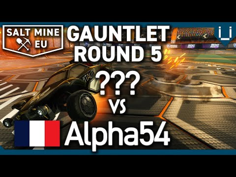 Salt Mine EU Ep.30   Gauntlet Round 5   ??? Vs Alpha54   1v1 Rocket League Tournament