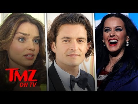 Katy Perry & Orlando Bloom Run Into Orlando's Ex | TMZ TV