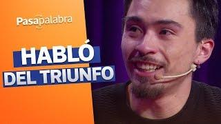 ¡EXCLUSIVO! Nicolás Gavilán habló tras ganar el rosco de Pasapalabra