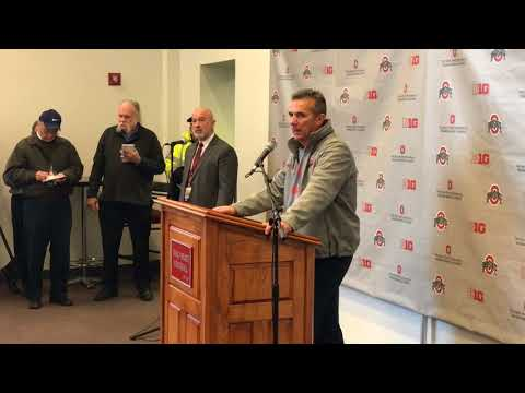 Urban Meyer news conference after Ohio State's win over Michigan State