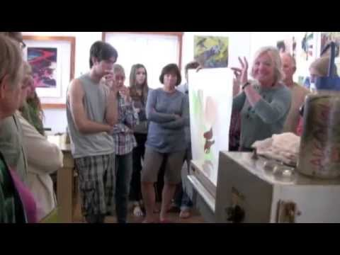 Artists Studio Tours - San Juan Islands WA  30 sec
