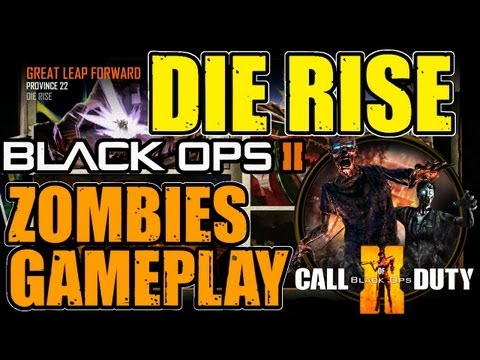 "[LIVE] ""DIE RISE"" ZOMBIES Gameplay 