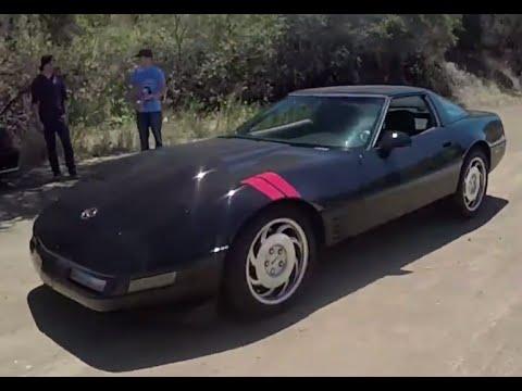 Modified C4 Corvette -  One Take