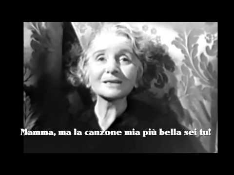 """Beniamino Gigli """"Mamma"""" con testo video Mario Ferraro."""