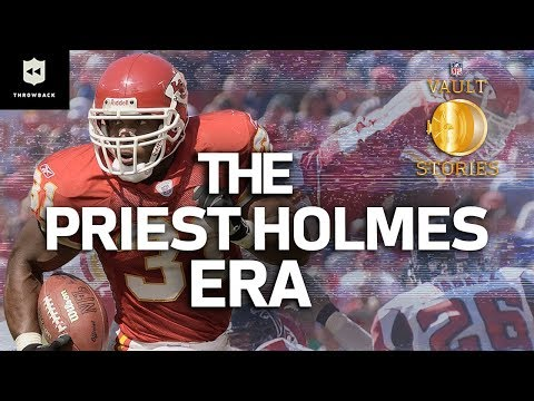 The Kingdom of Priest Holmes | #ThrowbackThursday | NFL