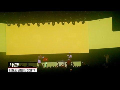 Lethal Bizzle: I Win (Ft. Skepta)   Live at REBEL (Toronto)