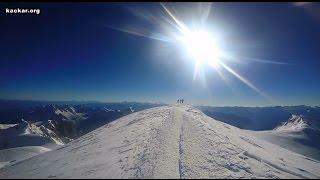 Mont Blanc 4810 mt. Climbing Zirve Tırmanışı 2016 GoPro HD