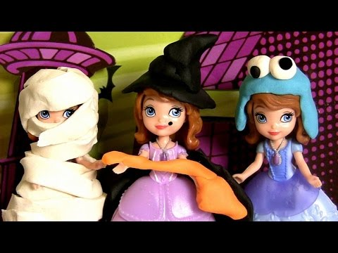 Play Doh Halloween Costume Disney Princess Sofia Dress Up The First Cookie Monster ? Wicked Witch & Play Doh Halloween Costume Disney Princess Sofia Dress Up The First ...
