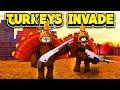TURKEYS INVADE JAILBREAK 2! (ROBLOX Jailbreak)