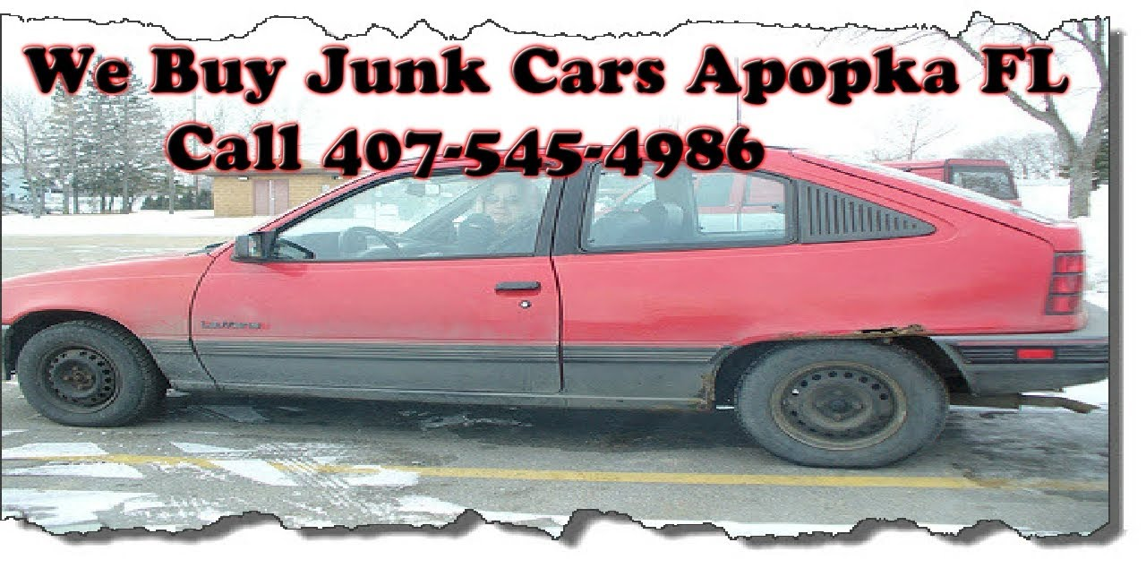 We Buy Junk Cars Apopka FL - Call 407-545-4986 - YouTube