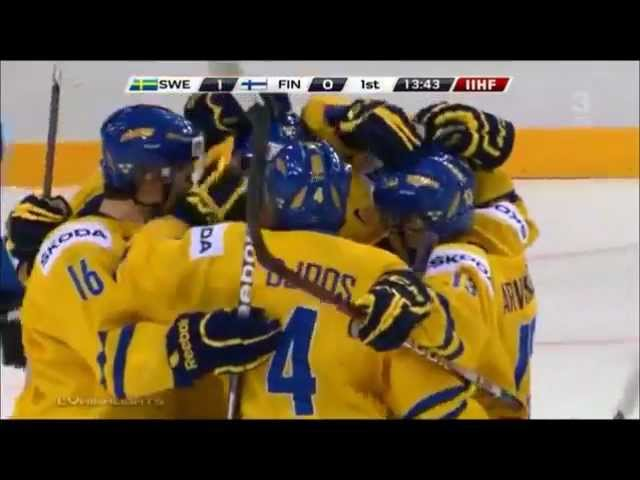 Alexander Wennberg 1-0 vs finland. world junior cup.