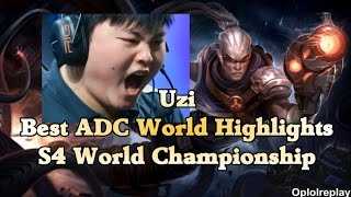 Uzi, Best ADC World Highlights - S4 World Championship UZI 検索動画 19