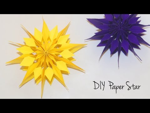 DIY Paper Star | Christmas Decoration Ideas | Easy Paper Crafts for Christmas