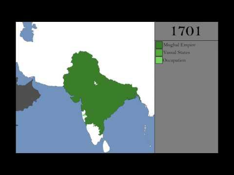 The Rise and Fall of the Mughal Empire