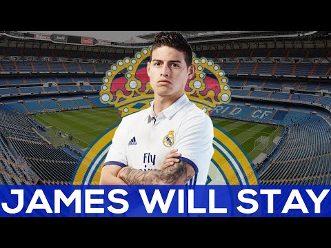 James Rodriguez WILL STAY IN REAL MADRID | REAL NEWS REACTION