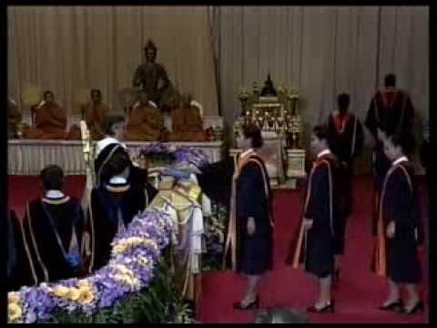 พิธีพระราชทานปริญญาบัตรแก่บัณฑิตรามคำแหง รุ่นที่ 39 - วันที่ 3 มีนาคม 2557 คาบเช้า