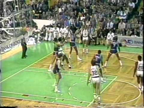 NBA Greatest Trios: Bird, McHale & Parish vs Knicks (1984)