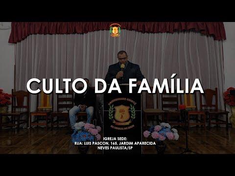 Pr. José Luís Rodrigues | Culto da Família - 15/08/2021