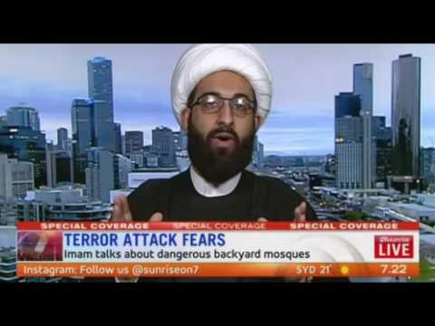 Imam Tawhidi debate with Dr Jamal Rifi on Sunrise
