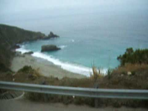 Driving Up To Big Sur