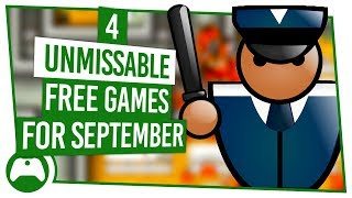 4 FREE Games For September You Can't Afford To Miss