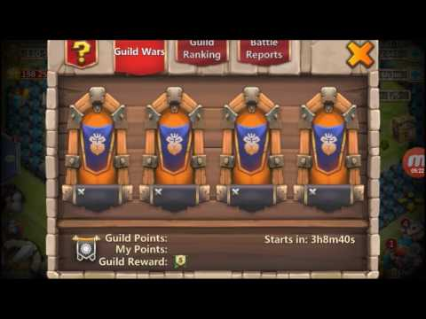 Castle Clash: Torch Wars Example (Max Torches)