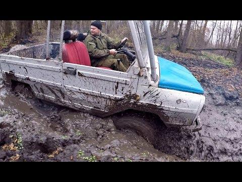 ЛуАЗ 969М в Песке и на бездорожье. Обзор легендарного внедорожника