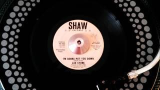 Lee Stone - I'm Gonna Put You Down - Shaw.wmv