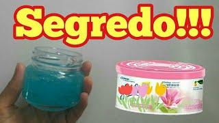 Quando soube DISSO – NUNCA MAIS COMPREI aromatizador gel no mercado