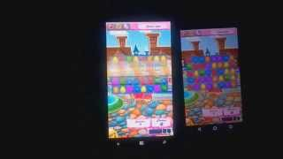 Candy Crush of iOS on WP vs Android